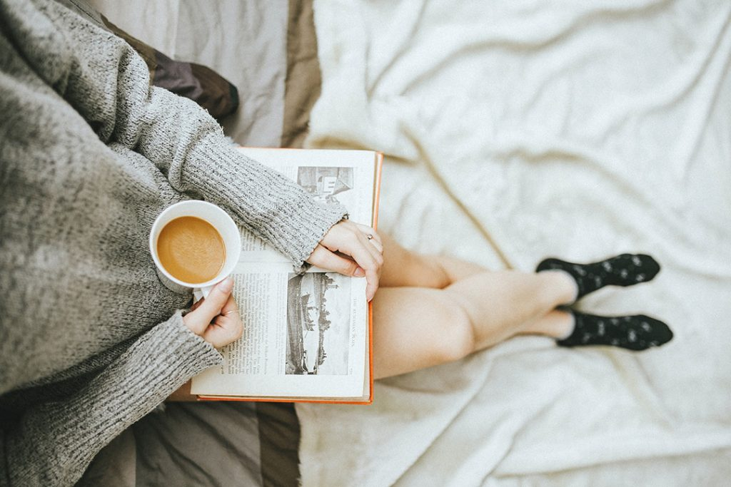 Six easy ways to de-stress at home